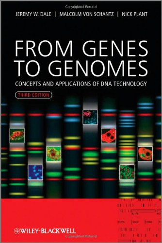 From Genes to Genomes Concepts and Applications of DNA Technology 3rd 2012 edition cover