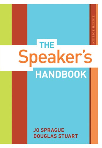 Speaker's Handbook  8th 2008 (Revised) edition cover