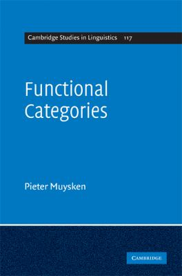 Functional Categories   2008 9780521853859 Front Cover