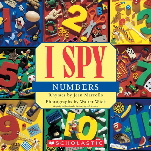 I Spy Numbers  N/A 9780545415859 Front Cover