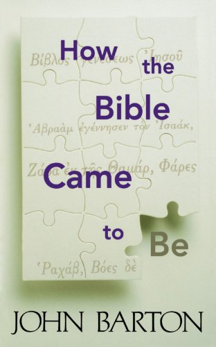 How the Bible Came to Be   1998 edition cover