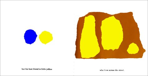 Little Blue and Little Yellow   1959 (Reprint) edition cover