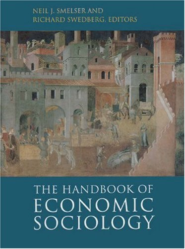 Handbook of Economic Sociology   1995 9780691044859 Front Cover