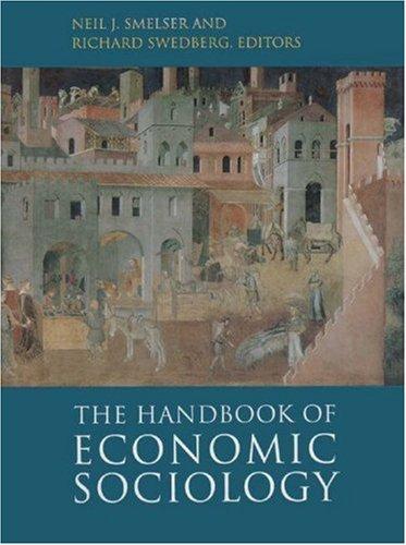 Handbook of Economic Sociology   1995 edition cover