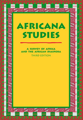 Africana Studies A Survey of Africa and the African Diaspora 3rd 2005 edition cover