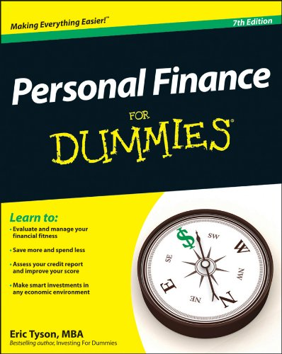 Personal Finance for Dummies�  7th 2012 9781118117859 Front Cover