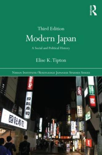Modern Japan A Social and Political History 3rd 2016 (Revised) edition cover