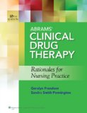 Abrams Clinical Drug Therapy 10e Text and PrepU Package   2014 9781469833859 Front Cover