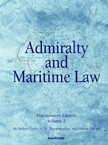 Admiralty and Maritime Law Volume 2   2008 edition cover