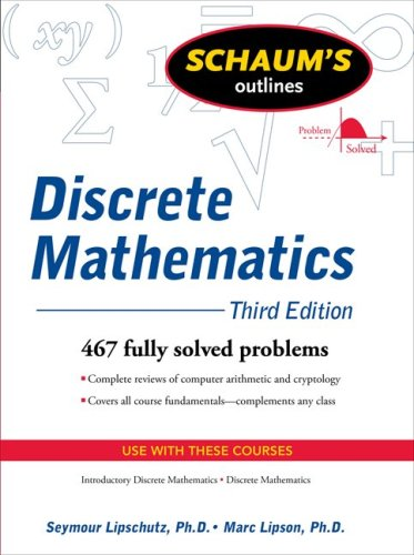 Discrete Mathematics  3rd 2010 (Revised) edition cover
