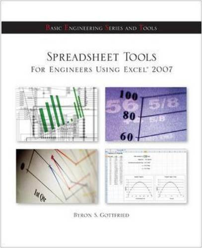 Spreadsheet Tools for Engineers Using Excel � 2007   2010 edition cover