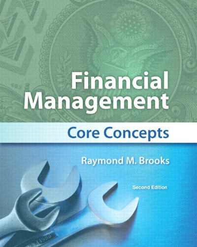 Financial Management Core Concepts 2nd 2013 edition cover