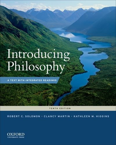 Introducing Philosophy A Text with Integrated Readings 10th 2011 9780199764860 Front Cover