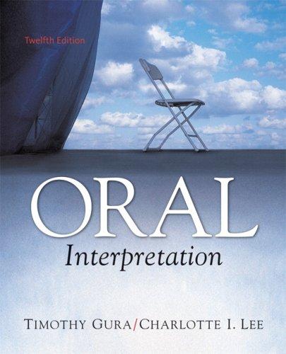Oral Interpretation  12th 2009 (Revised) edition cover
