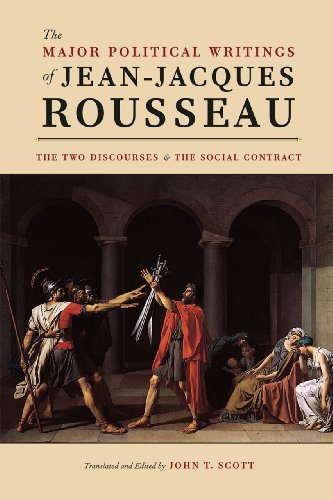 Major Political Writings of Jean-Jacques Rousseau The Two Discourses and the Social Contract  2012 edition cover