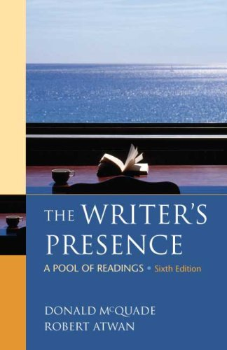 Writer's Presence A Pool of Readings 6th edition cover
