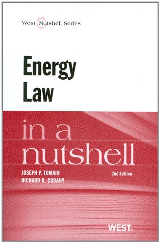 Energy Law in a Nutshell  2nd 2011 (Revised) edition cover