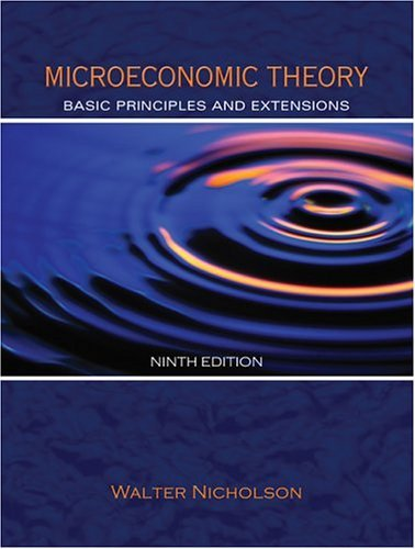 Microeconomic Theory Basic Principles and Extensions 9th 2005 edition cover