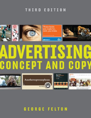 Advertising Concept and Copy  3rd 2013 edition cover