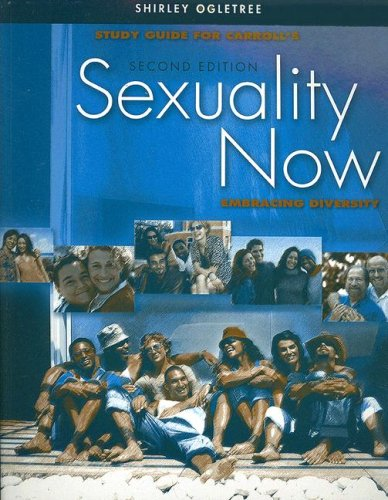 S. G. Sexuality Now Embracing Diversity 2nd 2007 9780495170860 Front Cover