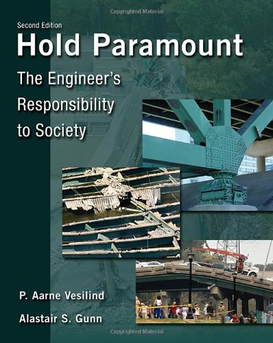 Hold Paramount The Engineer's Responsibility to Society 2nd 2011 edition cover