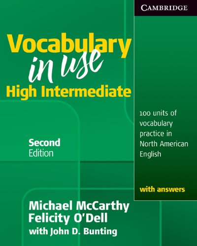 Vocabulary in Use High Intermediate Student's Book with Answers  2nd 2010 (Student Manual, Study Guide, etc.) edition cover