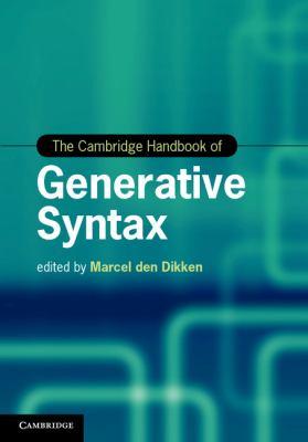 Cambridge Handbook of Generative Syntax   2013 9780521769860 Front Cover