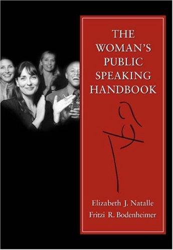 Woman's Public Speaking Handbook   2004 9780534598860 Front Cover