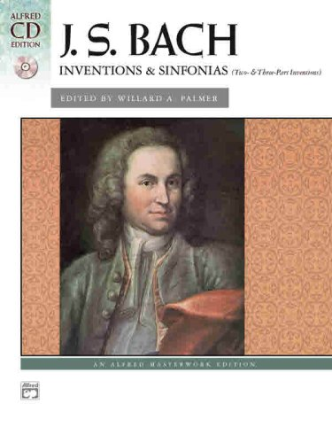 Inventions and Sinfonias   2004 edition cover