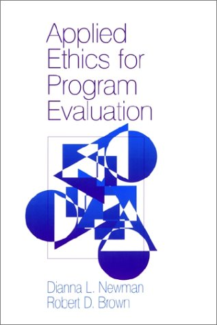 Applied Ethics for Program Evaluation   1995 edition cover