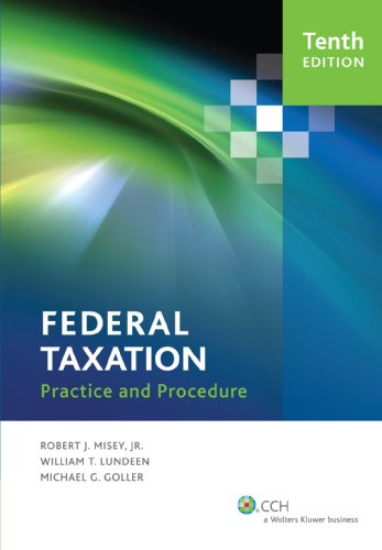 Federal Taxation Practice and Procedure (10th Edition)  2011 edition cover