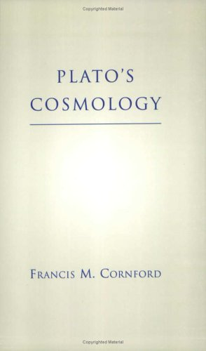 Plato's Cosmology  2nd (Reprint) edition cover