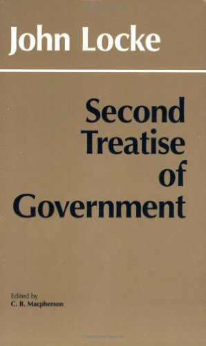 Second Treatise on Government  N/A 9780915144860 Front Cover