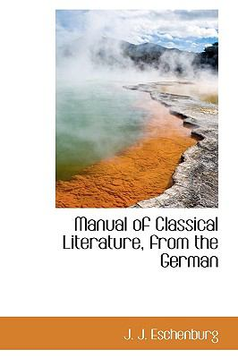 Manual of Classical Literature, from the German N/A edition cover