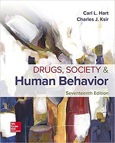 Drugs, Society, and Human Behavior: 17th 2017 9781259913860 Front Cover