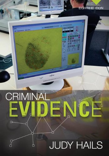 Criminal Evidence:   2013 edition cover