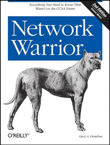 Network Warrior  2nd 2011 edition cover