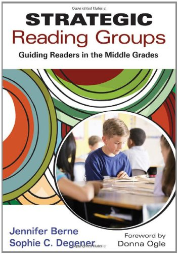 Strategic Reading Groups Guiding Readers in the Middle Grades  2012 edition cover