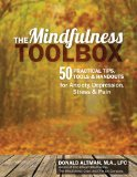 The Mindfulness Toolbox: 50 Practical Mindfulness Tips, Tools and Handouts for Anxiety, Depression, Stress and Pain  2014 edition cover