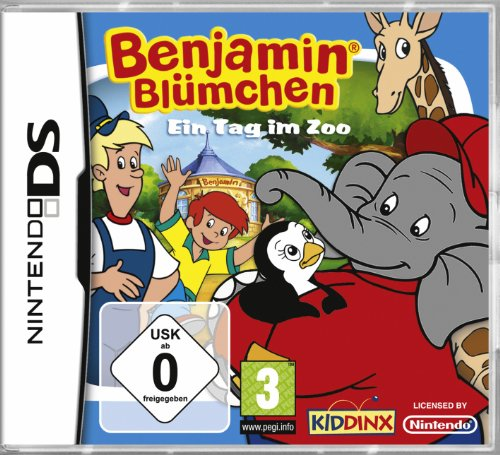 Benjamin Blümchen - Ein Tag im Zoo Nintendo DS artwork