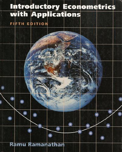 Introductory Econometrics with Applications 5th 2002 edition cover