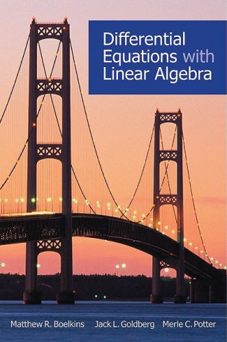 Differential Equations with Linear Algebra   2009 edition cover