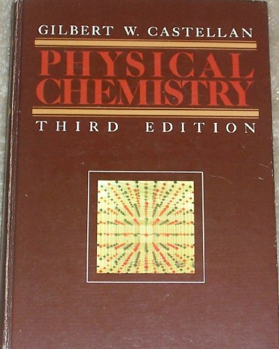 Physical Chemistry 3rd edition cover