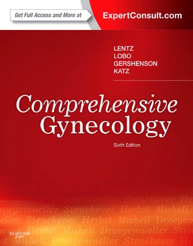 Comprehensive Gynecology Expert Consult - Online and Print 6th 2012 edition cover