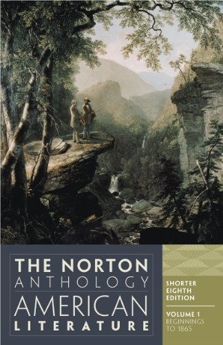 Norton Anthology of American Literature  8th 2012 9780393918861 Front Cover
