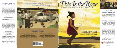 This Is the Rope A Story from the Great Migration N/A edition cover