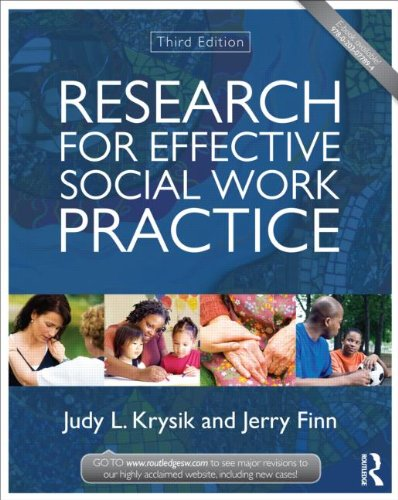 Research for Effective Social Work Practice  3rd 2013 (Revised) edition cover