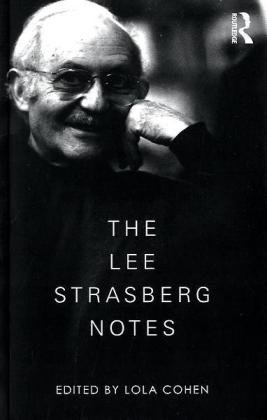 Lee Strasberg Notes   2010 edition cover