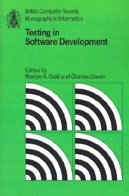 Testing in Software Development   1986 9780521337861 Front Cover