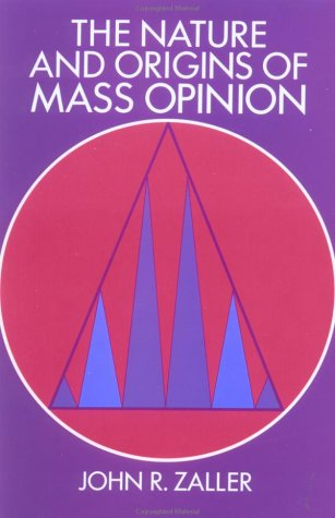 Nature and Origins of Mass Opinion   1992 edition cover